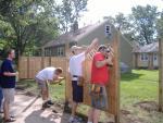 Drew & Joy's New Fence & Deck